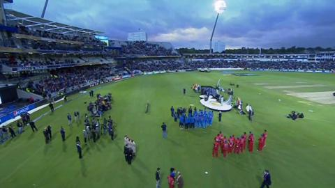 F: England v India Match Presentation