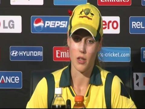 Ellyse Perry interview