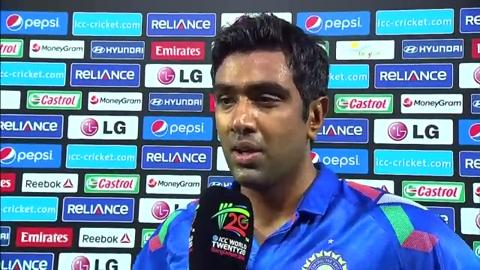 Warm-up: IND v SL - R Ashwin interview
