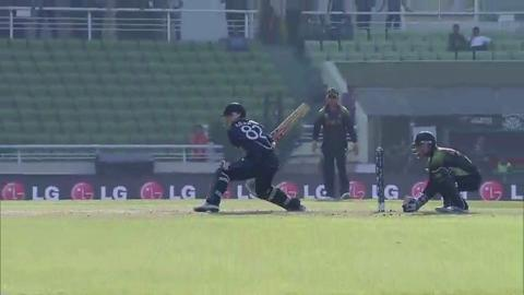 Warm-up: NZ v Pak - Interview - Colin Munro