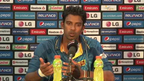 Warm-up match: IND v SL - Sri Lanka press conference part 1