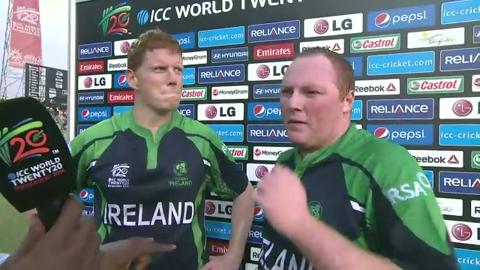 M12: IRE v NED - Interview - Andrew Poynter and Kevin O'Brien