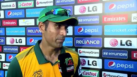 M14: SL v SA - Imran Tahir Interview