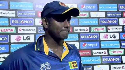 M19: SL v NED - Interview - Angelo Mathews