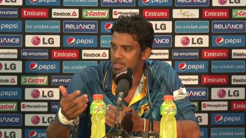 Warm-up match: IND v SL - Sri Lanka press conference part 3