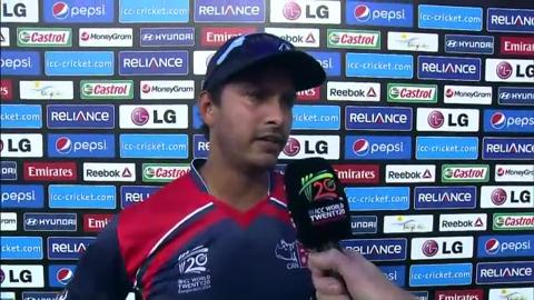 M9: AFG v NEP - Subash Khakurel Interview