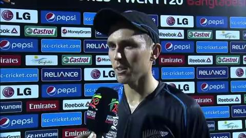 M30: SL v NZ - Interview - Trent Boult