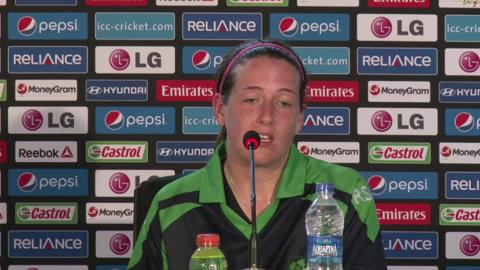 Women's World Twenty20 - M9: Ireland's Isobel Joyce PC
