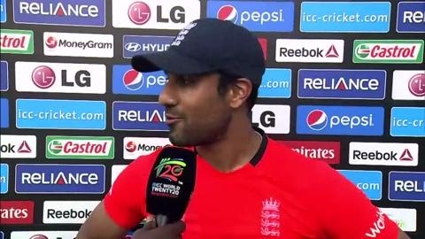 M29: Eng v Ned - Ravi Bopara Interview