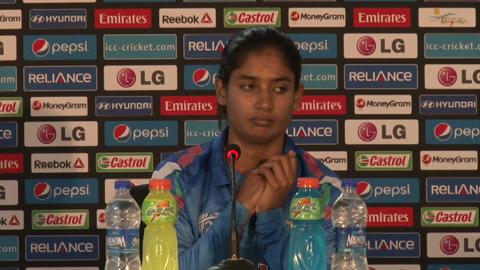 Women's World Twenty20- M4- India's Mithali Raj PC