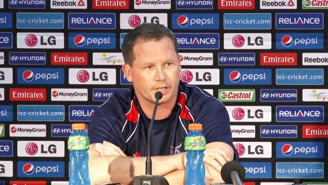 Pre-Match: Hong Kong coach Charlie Burke PC