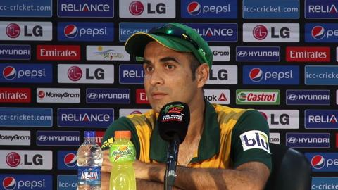 M21: SA v NED - South Africa's Imran Tahir PC