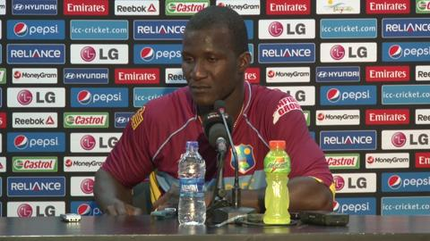 M23: West Indies' Darren Sammy PC