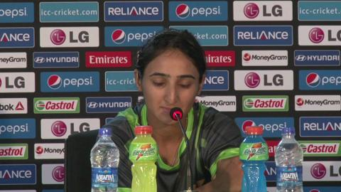 Women's World Twenty20 M14 Pakistan's Bismah Maroof PC