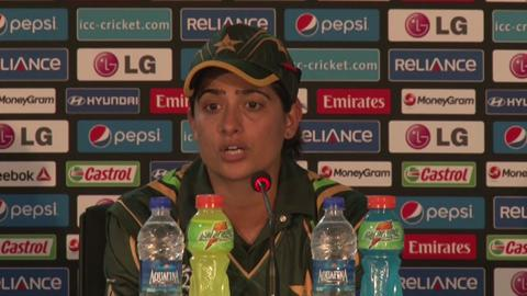 Women's World Twenty20- M2- Pakistan's Sana Mir PC