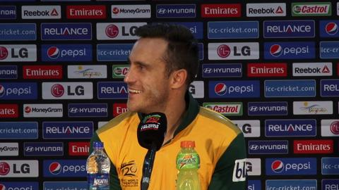 M18: South Africa's Faf du Plessis PC