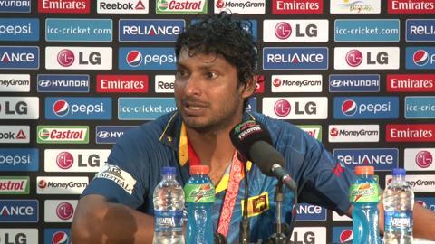 Final: Sri Lanka's Kumar Sangakkara PC