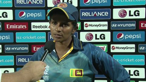 Women's World Twenty20 Playoff1 Sri Lanka's Shashikala Siriwardene interview