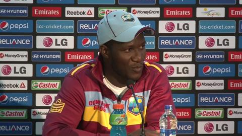 SF1: West Indies' Darren Sammy preview PC