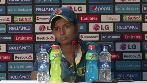 Women's World Twenty20 M12 Sri Lanka's Shashikala Siriwardene PC