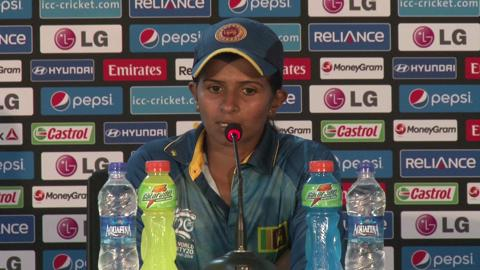 Women's World Twenty20 Sri Lanka's Shashikala Siriwardene's PC