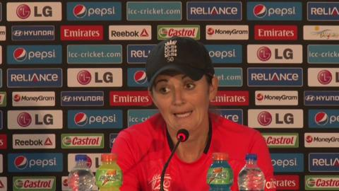 Women's World Twenty20- M3- England's Charlotte Edwards PC