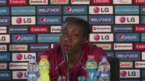 Women's World Twenty20 M20 West Indies' Stafanie Taylor PC