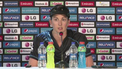 Women's World Twenty20- M1- New Zealand's Nicola Browne PC