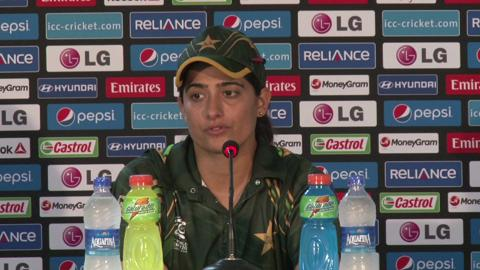 Women's World Twenty20 M17: Pakistan's Sana Mir PC