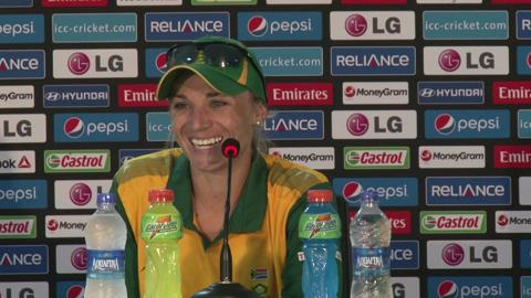 Women's World Twenty20 M13 South Africa's Mignon du Preez PC