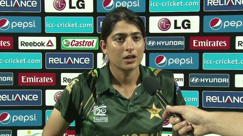 Women's World Twenty20 Playoff2 Pakistan's Sana Mir interview