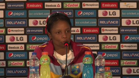 Women's World Twenty20 M3- West Indies' Merissa Aguilleira PC