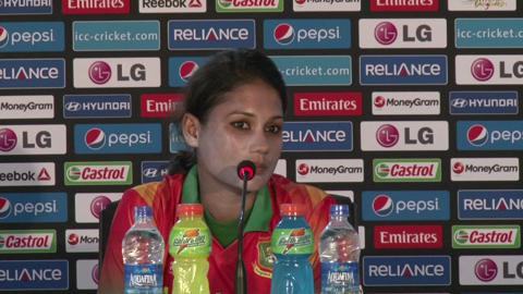 Women's World Twenty20 M11: Bangladesh's Jahanara Alam PC - Part 2