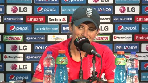 Final: England women's captain Charlotte Edwards PC