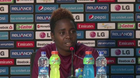 Women's World Twenty20 M12 West Indies' Shanel Daley PC