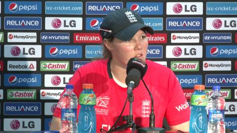 SF2: England women's team's Anya Shrubsole PC