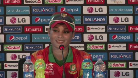 Women's World Twenty20 M19 Bangladesh's Jahanara Alam PC