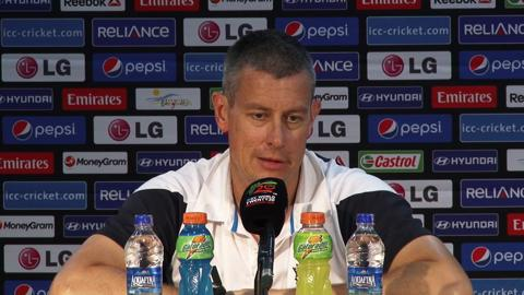 M29: Eng v Ned - England's Ashley Giles PC