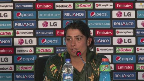 Women's World Twenty20 - M10: Pakistan's Sana Mir PC