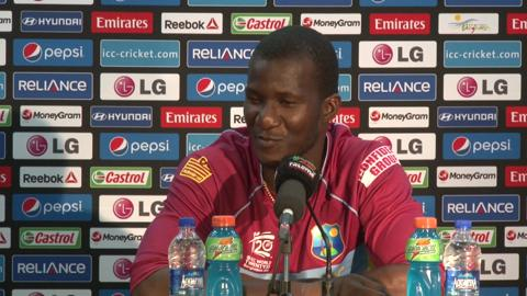 SF1: West Indies' Darren Sammy PC