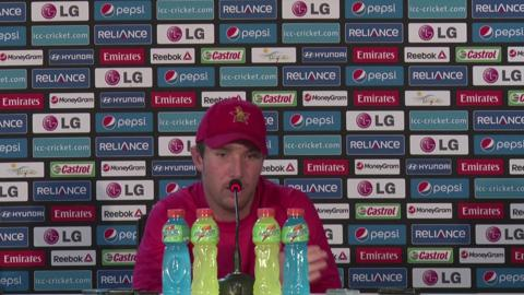 Zimbabwe's Brendan Taylor PC on Netherlands match