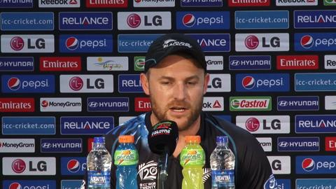 M30: SL v NZ - New Zealand's Brendon McCullum PC