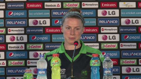 Women's World Twenty20 M13 Ireland's Mary Waldron PC