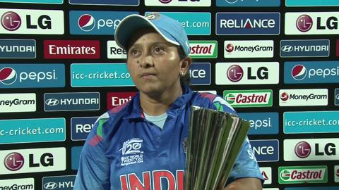 Women's World Twenty20 Playoff2 India's Soniya Dabir interview