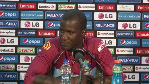 M17: West Indies' Darren Sammy PC