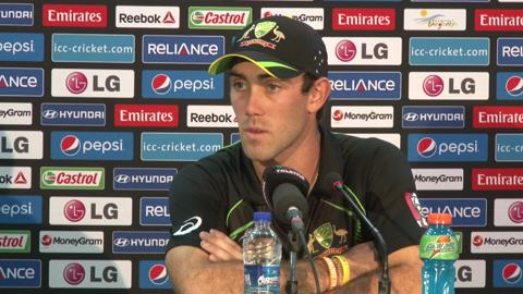 Australia's Glenn Maxwell pre-West Indies match PC
