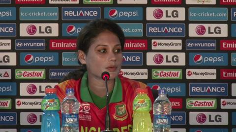 Women's World Twenty20 M15 Bangladesh's Jahanara Alam PC