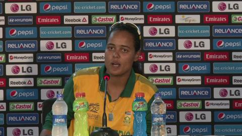 Women's World Twenty20 M13 South Africa's Chloe Tryon PC