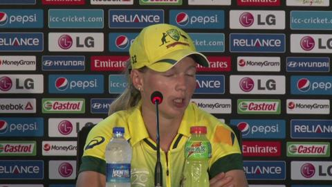 Women's World Twenty20 M9: Australia's Meg Lanning PC