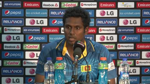 SF1: Sri Lanka's Angelo Mathews PC